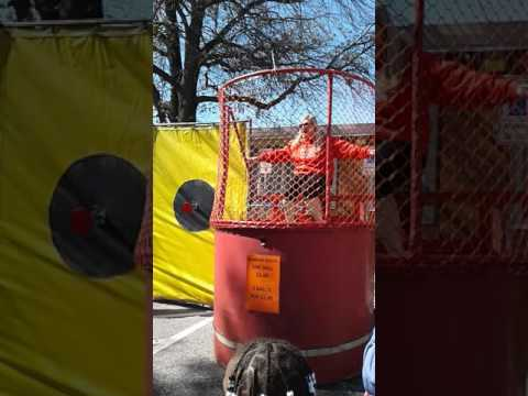 Principle gets dunked again by students at grange elementary school