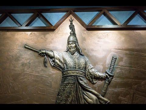 The Story of Admiral Yi Sunshin at Gwanghwamun Square in Seoul, South Korea