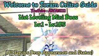 Toram online drop list video clip
