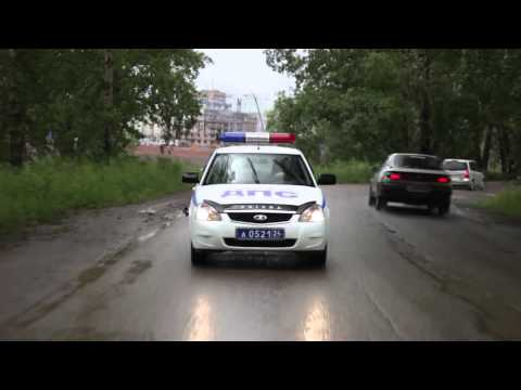 Обзор на полицейскую Lada Priora