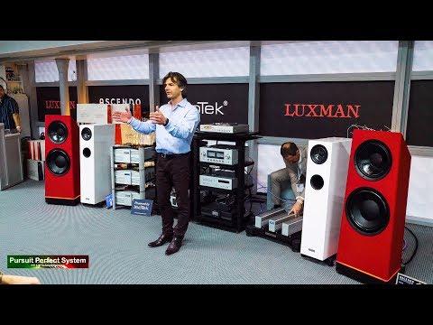 IsoTek Full Demonstration Luxman ASCENDO HiFi Speakers @ Munich High End Show 2019