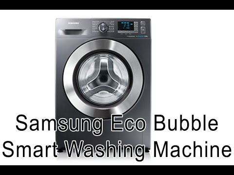 review tutorial samsung eco bubble smart washing mashine wf80f5e5w4x youtube. Black Bedroom Furniture Sets. Home Design Ideas
