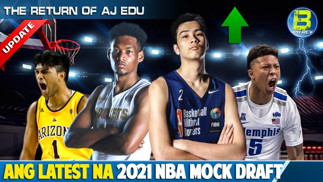 Kai Sotto Umangat sa Rankings ng NBA Mock Draft 2021 | Fil-Ams Pasok | AJ Edu Returns