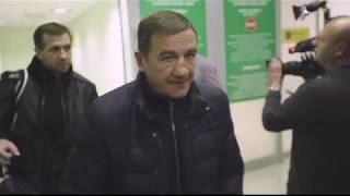 Встреча молодежной сборной России в Шереметьево