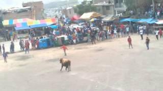 Corrida de toros de Barrio Yuracc yuracc 2014 Ayacucho - Perú EL SHOW DE KACHITO