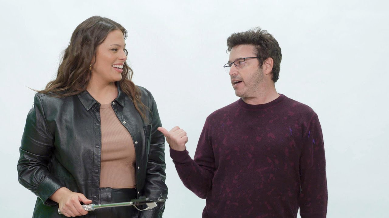 Average Andy Gets a Selfie Lesson from Ashley Graham