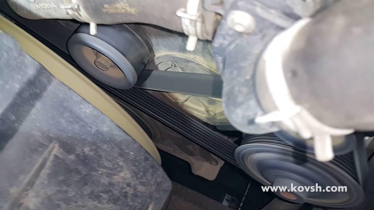 Стук шкива коленвала Ford Transit 2.4TDCi
