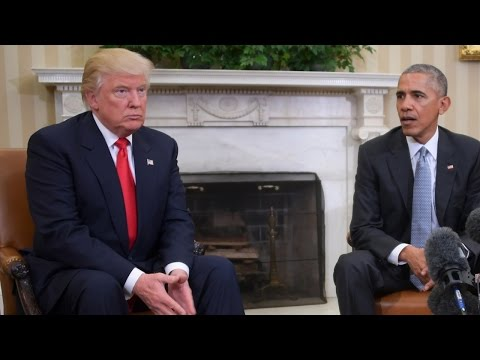 Zo kreeg Trump een hekel aan Obama