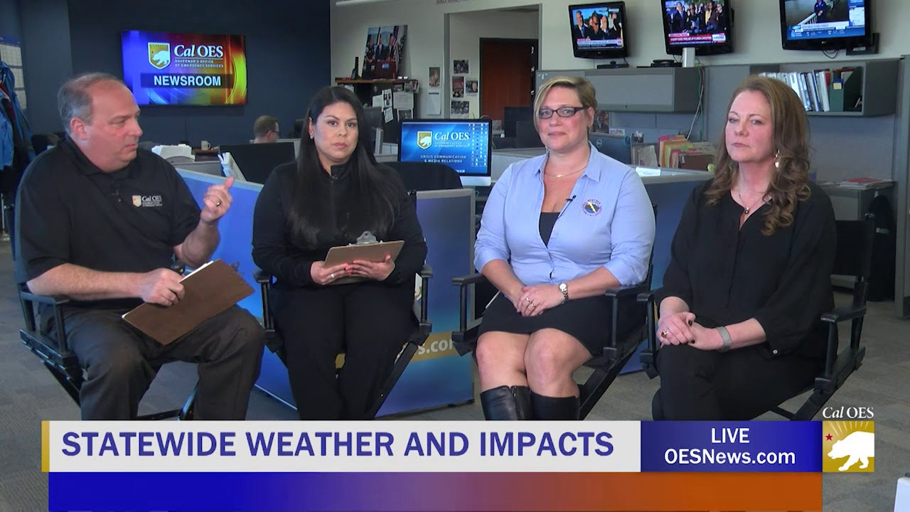 Live with our friends at NWS Sacramento! (Climate change, disasters and how they're related.)