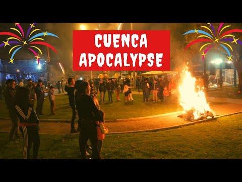 New Year's Eve Apocalypse In Cuenca Ecuador 2019