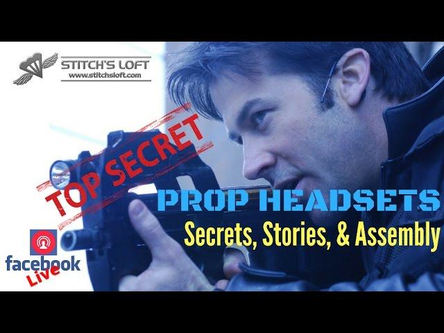 STARGATE PROP HEADSETS (FB LIVE) by Stitch's Loft