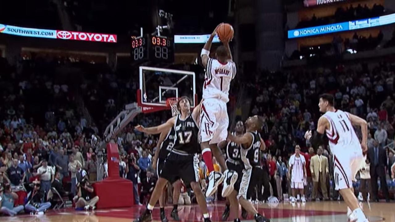 【經典回顧】上帝都感動的哭了,35秒13分絕殺馬刺,獨屬於T-mac的榮光!(影)-Haters-黑特籃球NBA新聞影音圖片分享社區