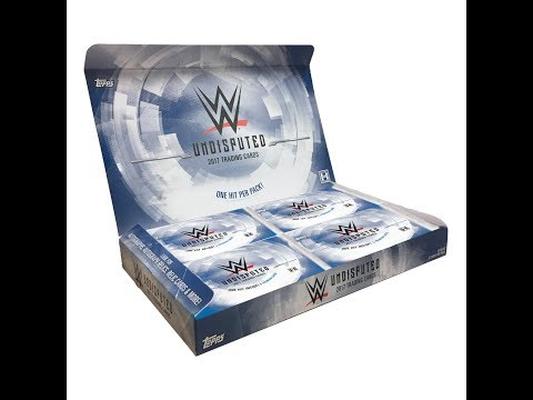2017 Topps WWE Undisputed Box Break