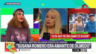 La ex de Olmedo destrozó a Silvia Pérez