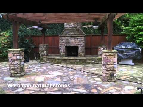 How To Pressure Wash Roof,limestone And Flagstone Patio