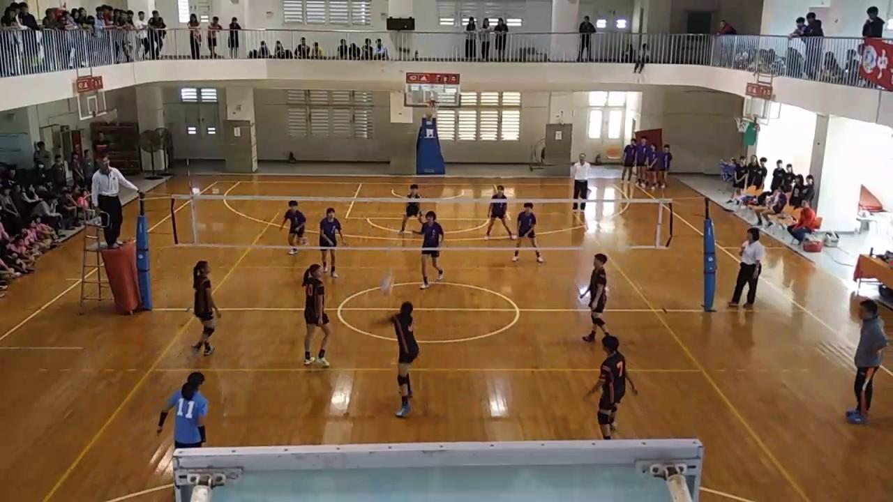 105學年度高中排球乙級聯賽-臺南區 臺南高商 vs 臺南女中 - YouTube