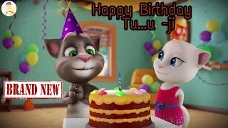 Happy - Birthday - Tu...U - Ji ( Tom & Angle - Funny - Video)