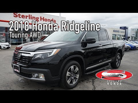 **SOLD** 2018 Honda Ridgeline Touring : Features & Walk-around (Sterling Honda)