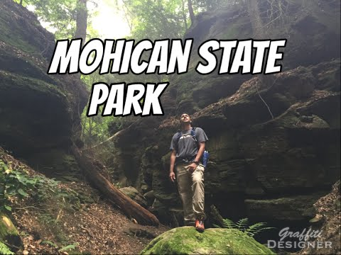 Hiking and Hammock camping at Mohican State Park