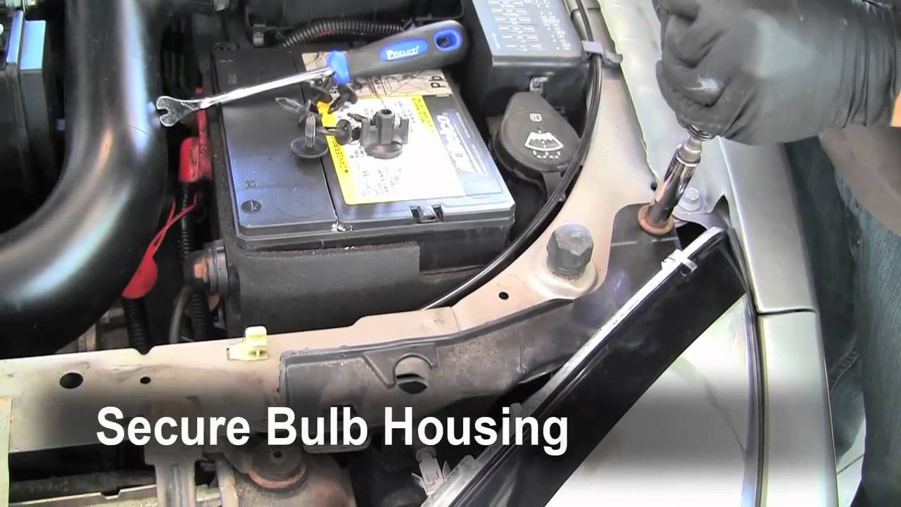 How To Change A Burnt Out Headlight Tailight Turn Signal Bulb On 2005 Pontiac Sunfire