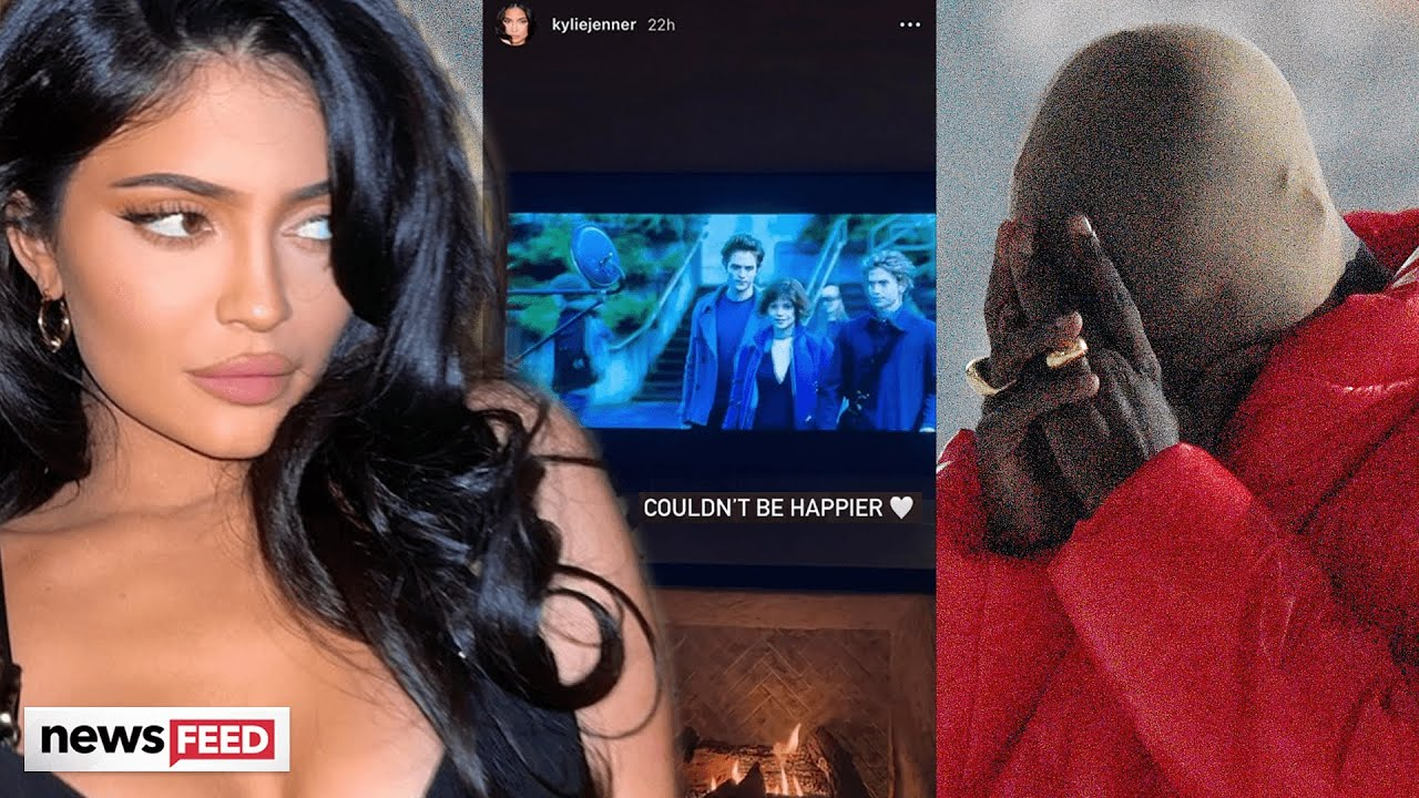 Kylie Jenner DITCHES Kanye's 'Donda' Party To Watch 'Twilight'?!
