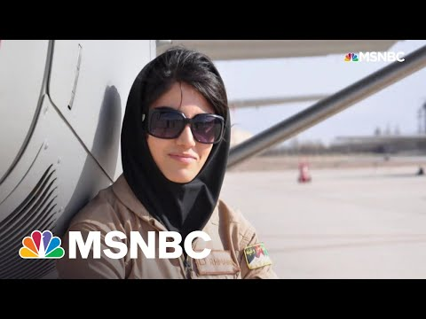 Afghan Woman To Biden: 'Please Save The Families'