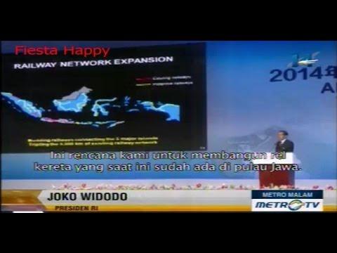 Presiden Jokowi Pidato Dengan Bahasa Inggris Di KTT APEC