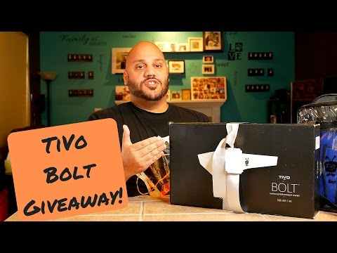 TiVo Bolt Giveaway! Commercial Skipping DVR + SWAG!
