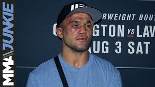 UFC on ESPN 5: Robbie Lawler post fight interview