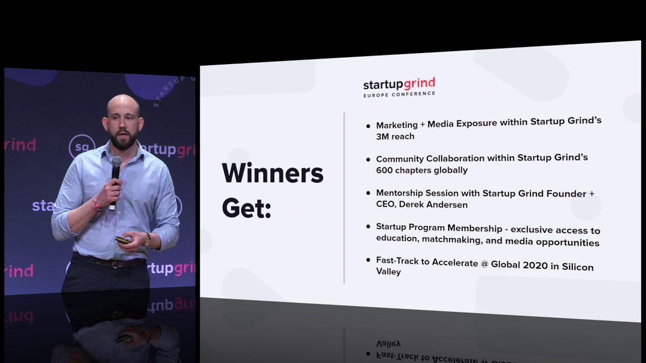Europe 2019- Startup of the Year Award Winner