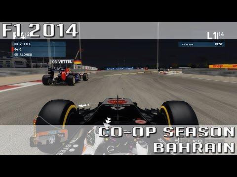 F1 2014 - Co-Op Season #3 - Air Gulf Bahrain [HD] [german]