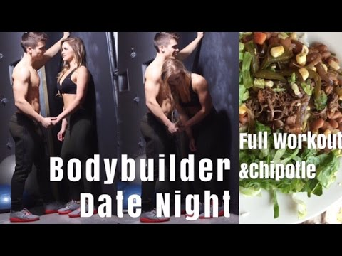Bodybuilder Date Night: Legs & Delts Workout | How I Track Chipotle