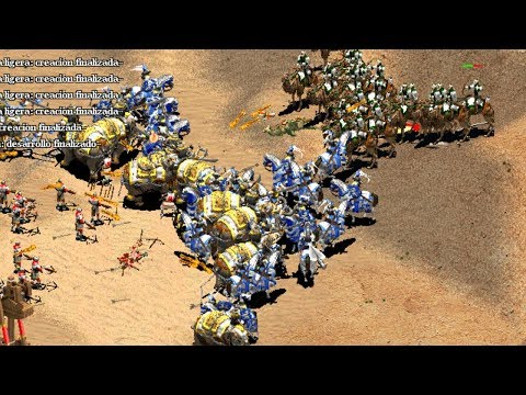 [TyRanT] VS FINLANDIA SEMIFINAL BATTLE OF AFRICA AGE OF EMPIRES 2