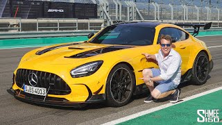 My FIRST DRIVE in the AMG GT Black Series! Future Arrival in My Garage