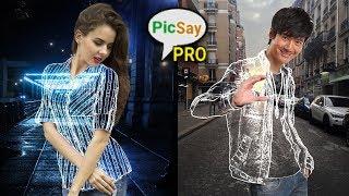 Gambar cover Cara Edit Baju transparan/Invisible Clothes Di Android - Tutorial Picsay Pro