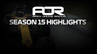 F1 2017 | AOR PC F3: SEASON 15 [Highlights]