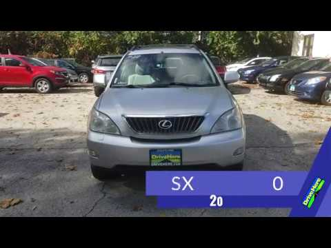 2008 LEXUS RX 350, 100% Application Review Policy
