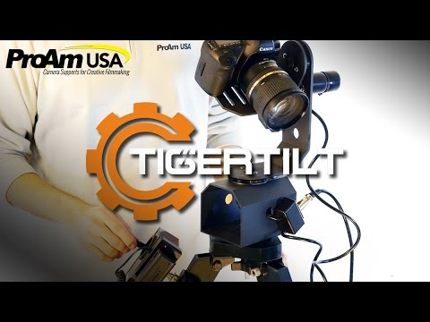 TigerTilt Motorized Pan Head | Intro & Unboxing | ProAmUSA.com
