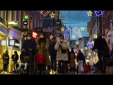 euronews (deutsch): Lockdown beendet Weihnachts-Shopping - Euronews am Abend am 14.12.