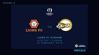 NPLW R1 - Lions FC vs Moreton Bay United