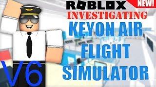 Keyon Air V6 Investigation (fr) Roblox