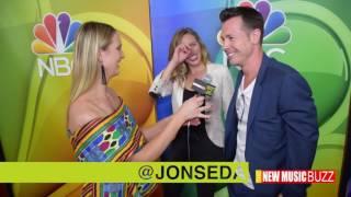#BUZZAXS | Jon Seda and New Regular  Tracy Spiridakos Talk Season 5