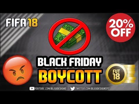 FIFA 18 PSA   DO NOT BUY PACKS ON BLACK FRIDAY!   BLACK FRIDAY FIFA POINT BOYCOTT   #FixFIFA