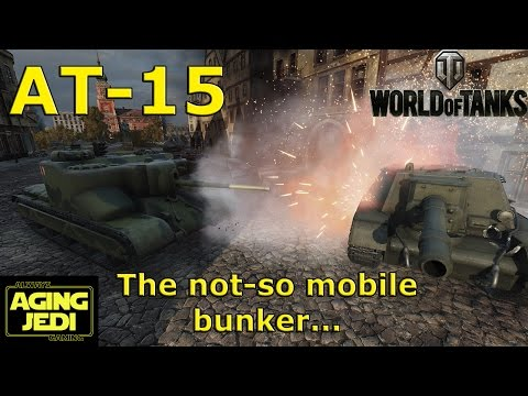 AT-15 Double Ace Tanker & Mobile Bunker - World of Tanks
