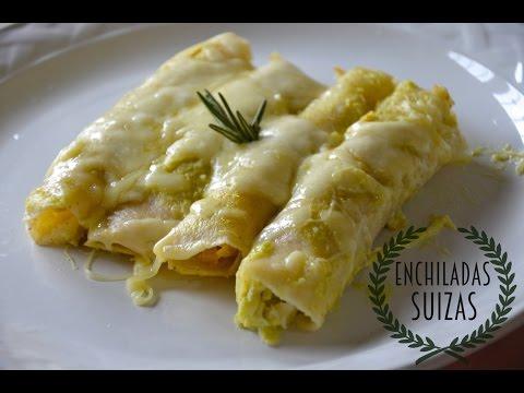 Deliciosas Enchiladas Suizas
