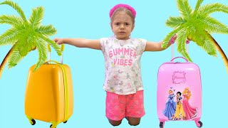 Anabella Pretend Play with Suitcase Luggage Vacation Travel Toy for Kids YouTube Videos