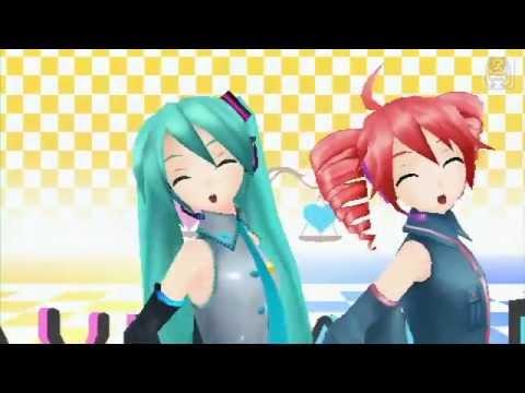 Hatsune Miku x Kasane Teto x Akita Neru - Triple Baka (Project Diva Extend)