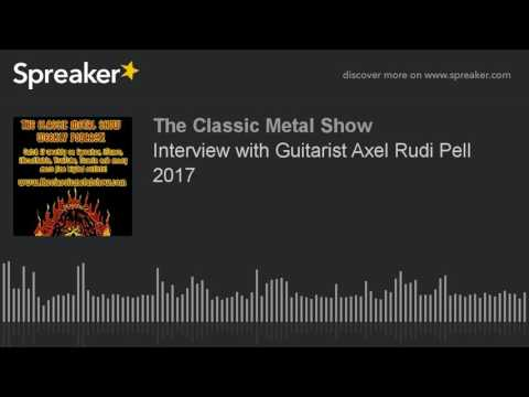 Interview with Guitarist Axel Rudi Pell 2017