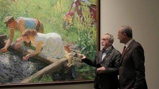 видео васнецов в русском музее картины