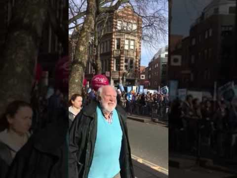 #SAVEOURNHS 4 March 2017 Shaftesbury Avenue, London